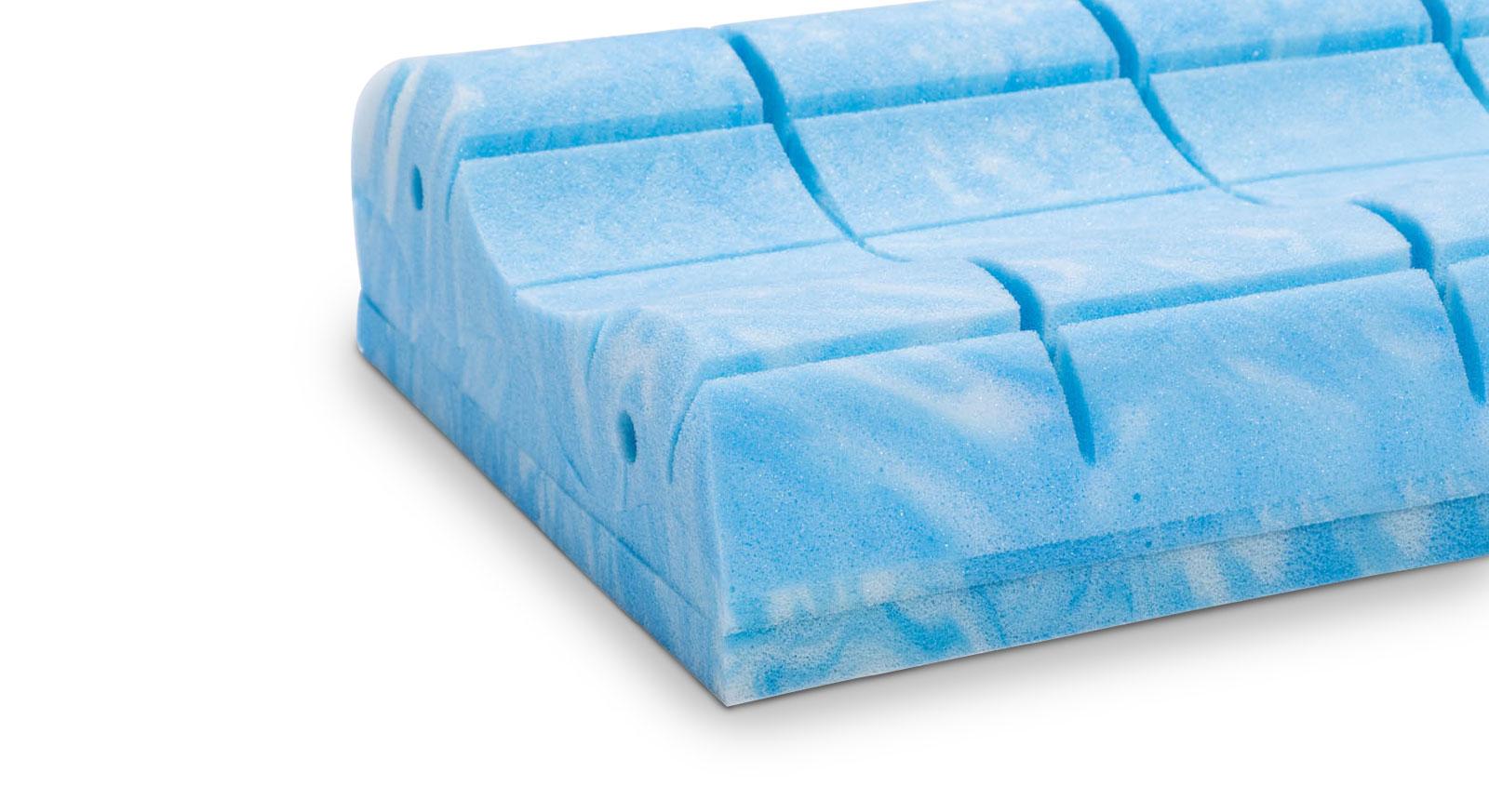 Waschbares Gelax-Nackenstützkissen nightstyle mit Doppeltuch-Bezug