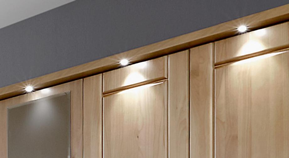 kleiderschrank aus holz mit spiegel und schubalden trikomo. Black Bedroom Furniture Sets. Home Design Ideas