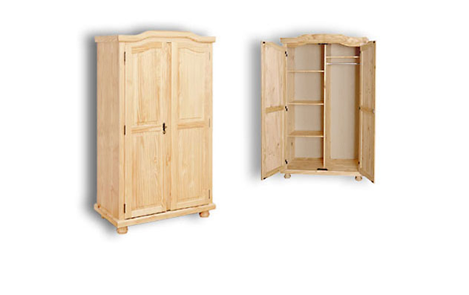 Stabiler Kleiderschrank Villach mit 2 Türen