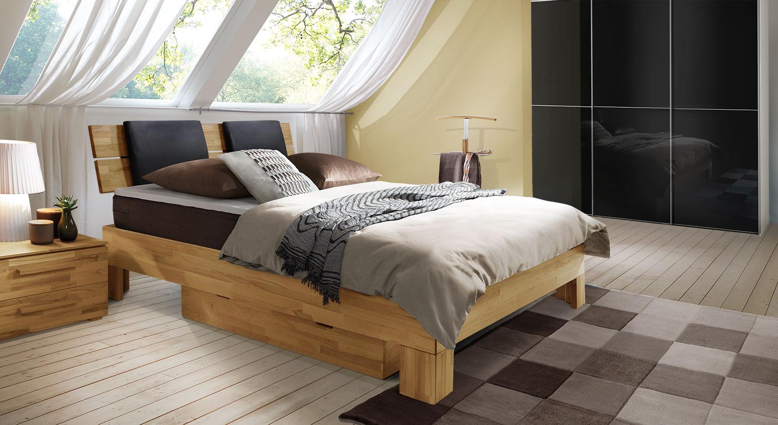 Komplett-Schlafzimmer mit Boxspringbett Port-Louis