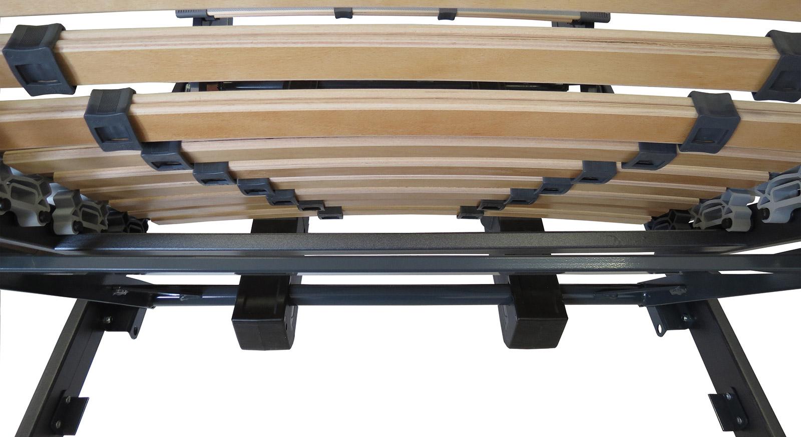 Lattenrost orthowell ultraflex XXXL motor mit stabilen Federleisten