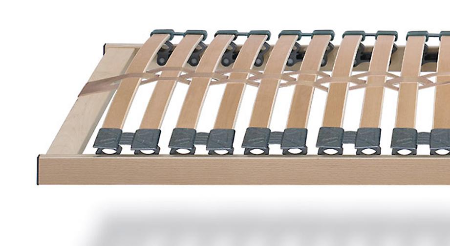 Lattenrost premiumflex mit Kautschukkappen flexibel