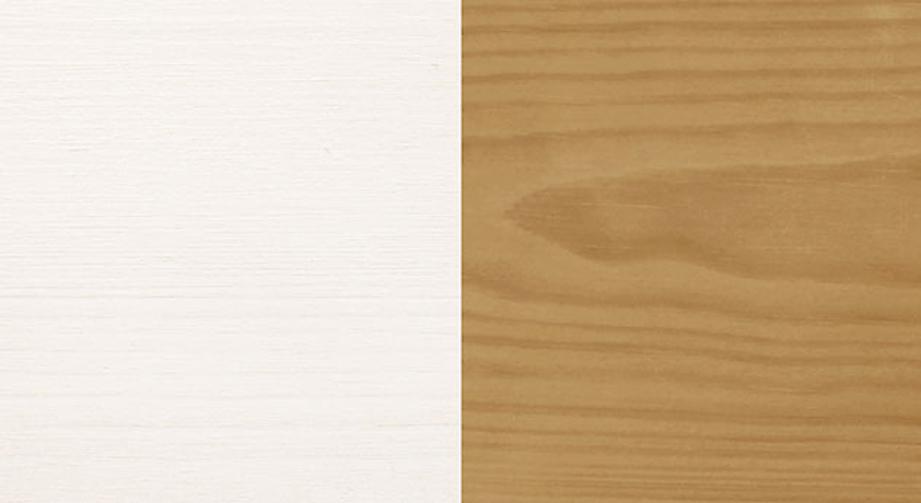 Massives Kiefernholz in Weiß oder gelaugt