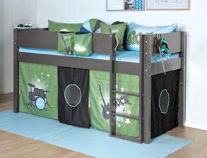 coole betten f r jungs und junge m nner kaufen. Black Bedroom Furniture Sets. Home Design Ideas