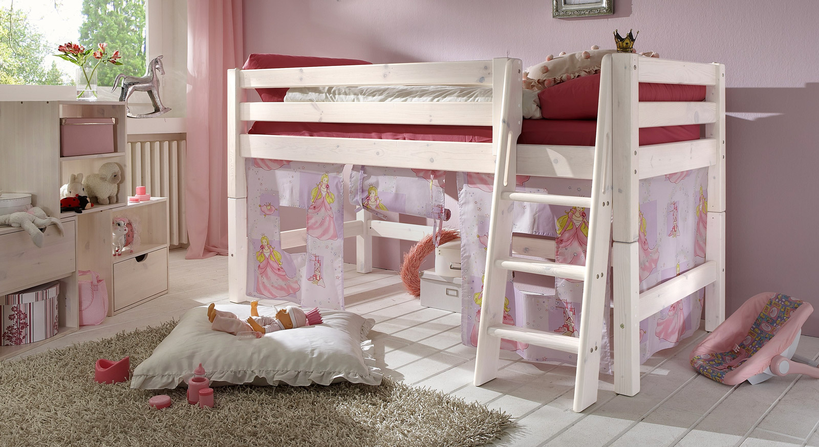 hochbetten fur kinderzimmer. Black Bedroom Furniture Sets. Home Design Ideas
