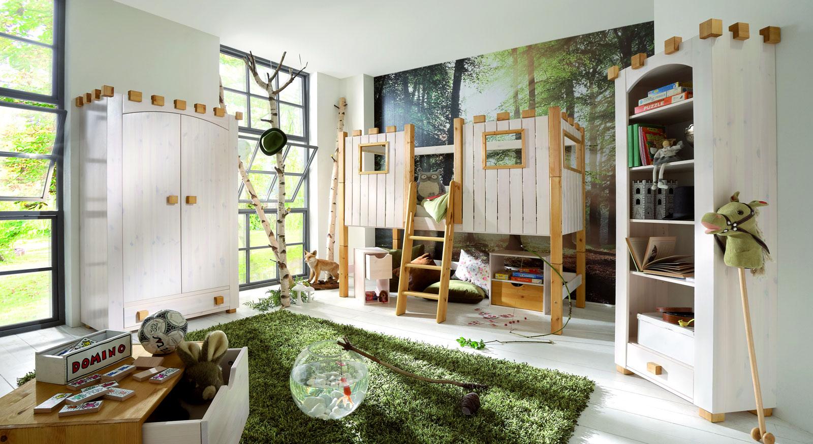 Ritterburg-Zimmer Kids Paradise zeigt passende Produkte