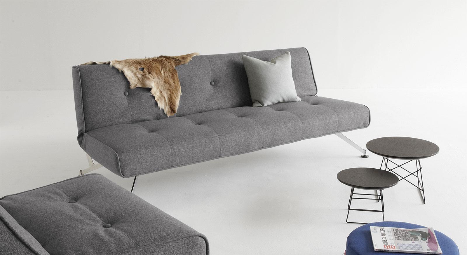 elegante couch mit federkern und schlaffunktion norton. Black Bedroom Furniture Sets. Home Design Ideas