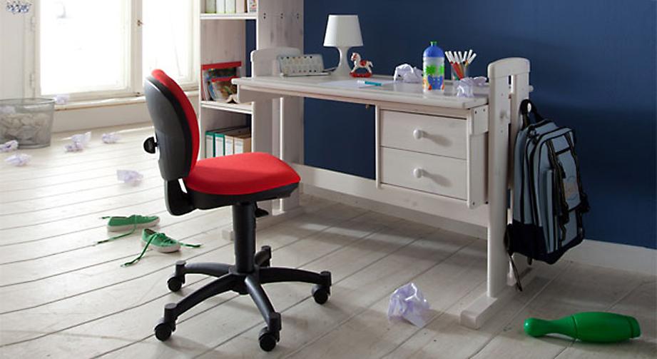 Schreibtisch Kids Paradise in Weiß