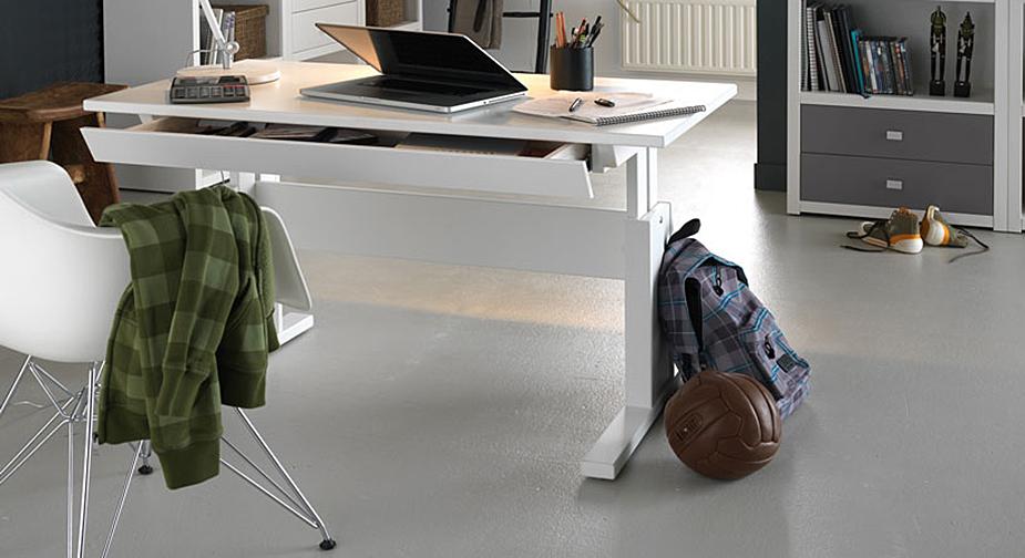 Schreibtisch Lifetime Original mit praktischer Schublade