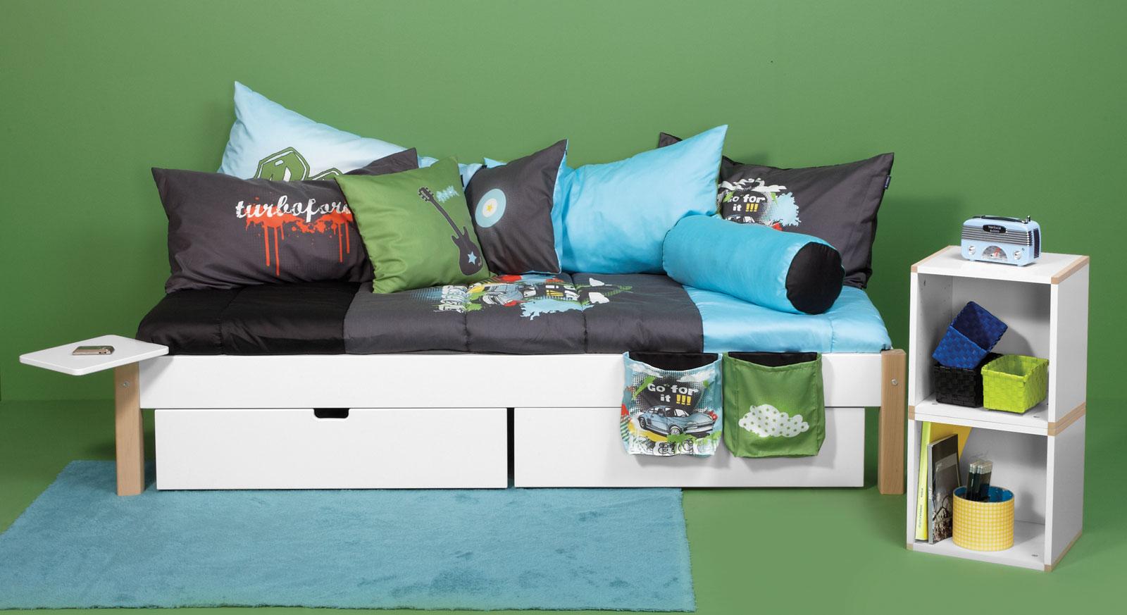 Passende Produkte zum Schubkasten-Bett Kids Town