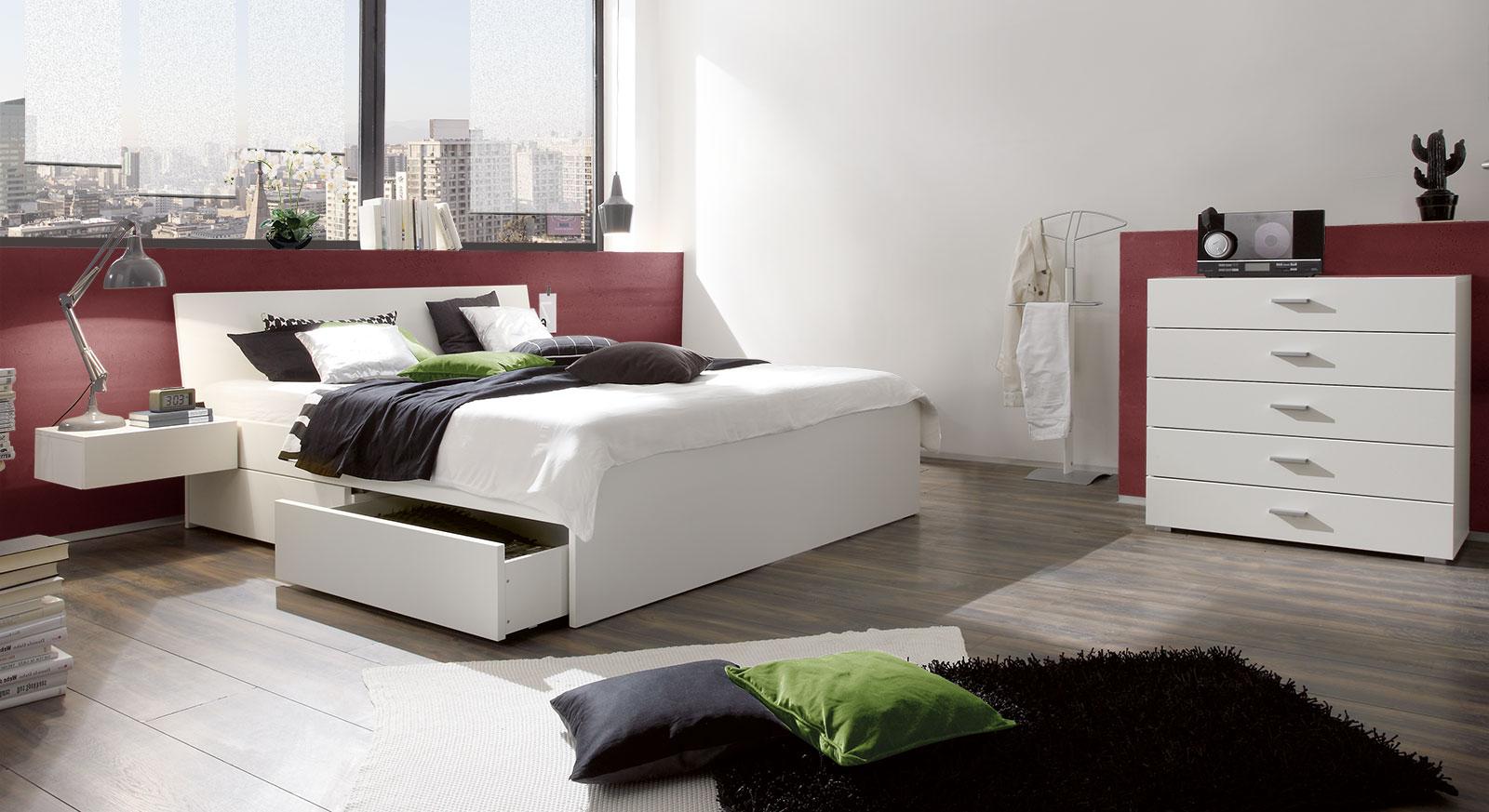 Passende Produkte für das Schubkasten-Doppelbett Liverpool