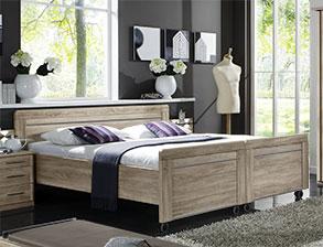 seniorenbett mit elektrischem lattenrost g nstig bei. Black Bedroom Furniture Sets. Home Design Ideas