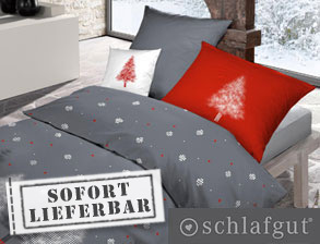 Soft-Touch-Cotton-Bettwäsche Winterland aus 100% Baumwolle