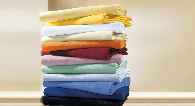 Flauschbiber Spannbetttuch von Kneer in verschiedenen Farben