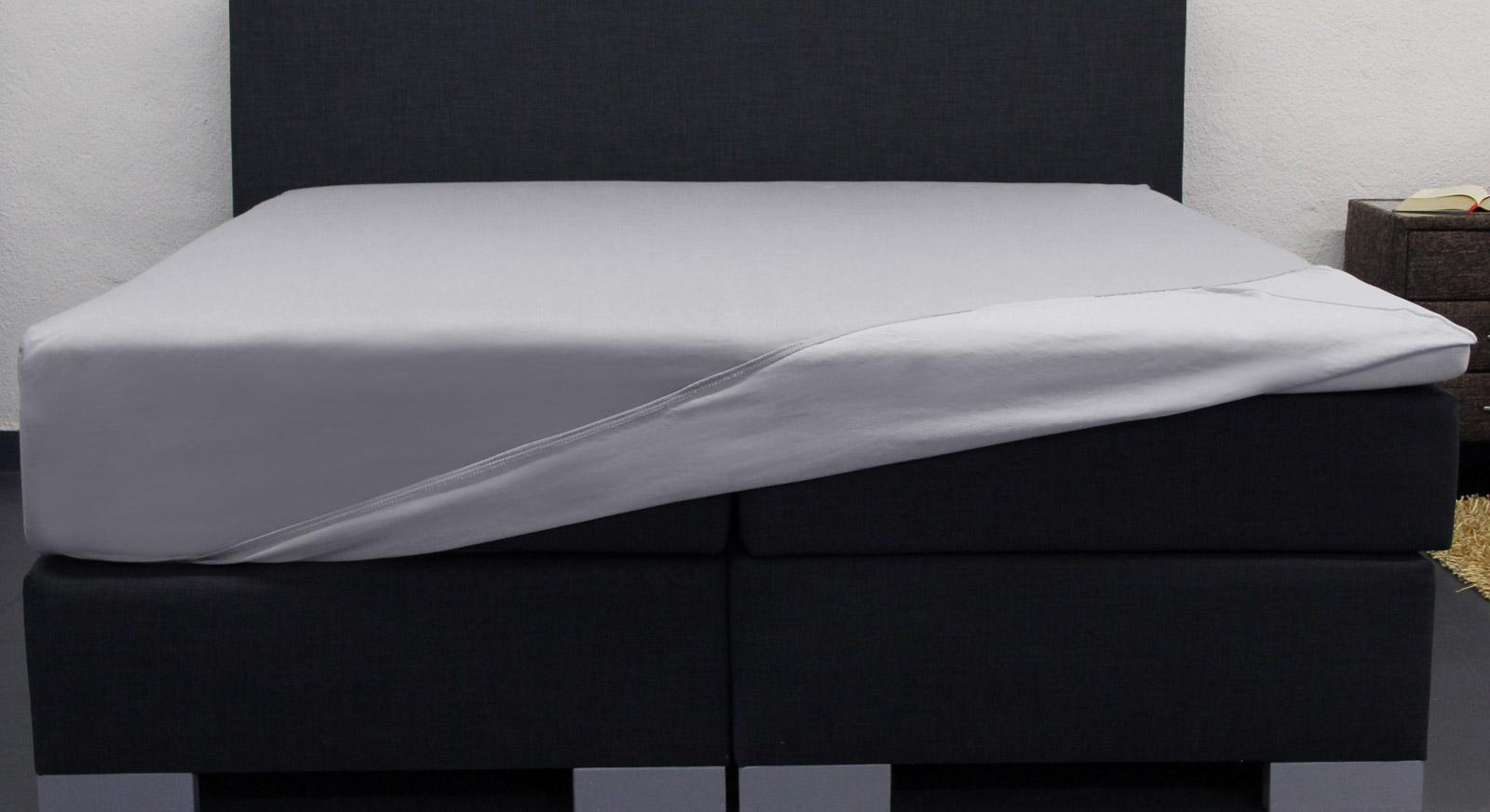 Spannbetttuch Superior-Stretch 2N1 mit Wendefunktion
