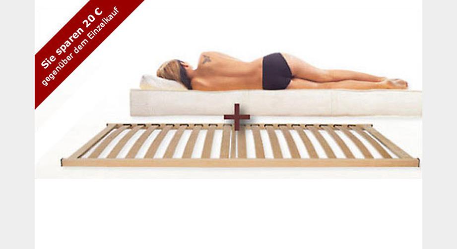 lattenrost und matratze im einsteiger set filum combi. Black Bedroom Furniture Sets. Home Design Ideas