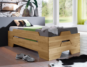 funktionsbetten mit 2 schlafgelegenheit kaufen. Black Bedroom Furniture Sets. Home Design Ideas