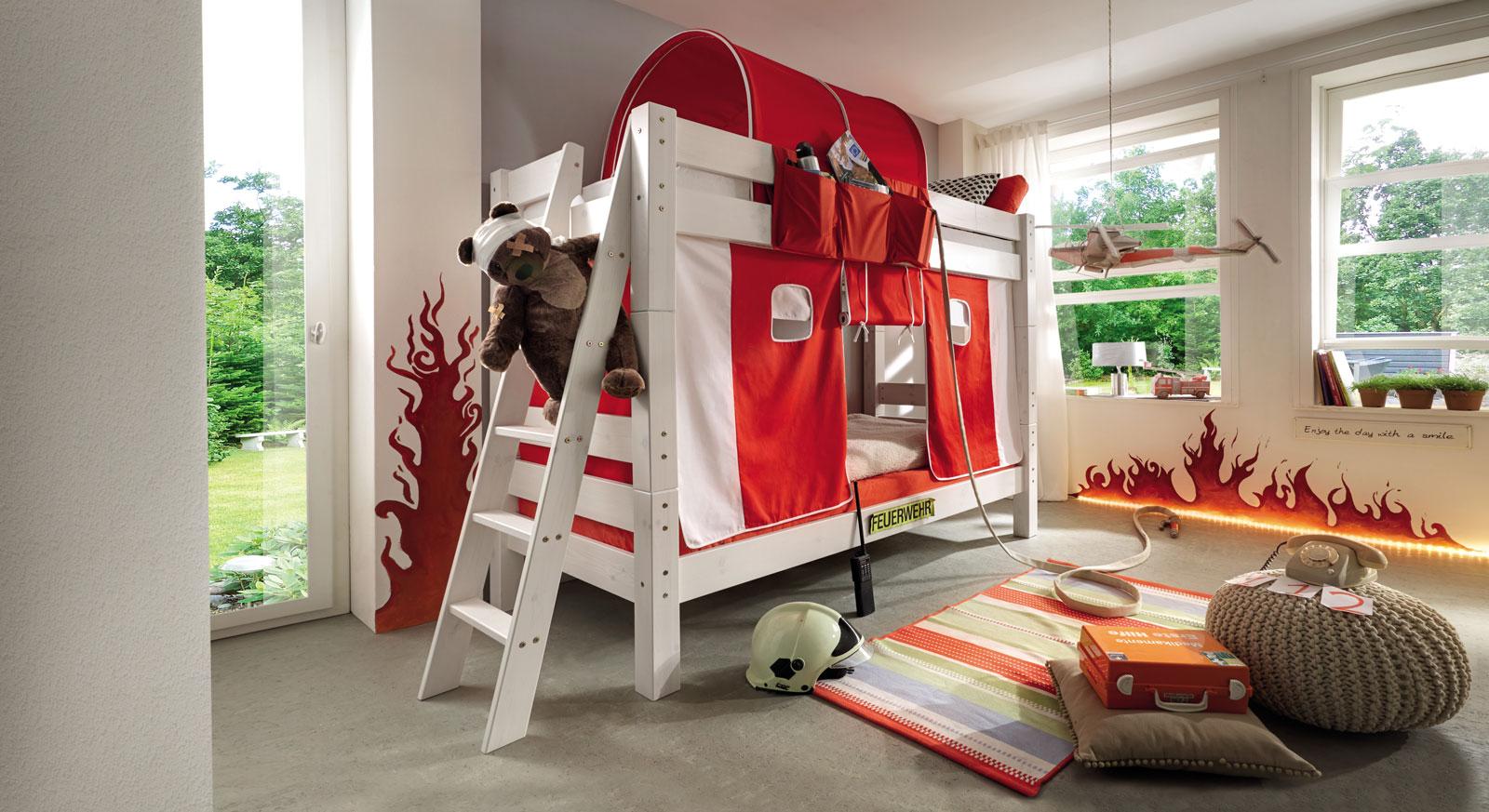 Stabiles Stockbett Kids Dreams mit zwei Schlafplätzen