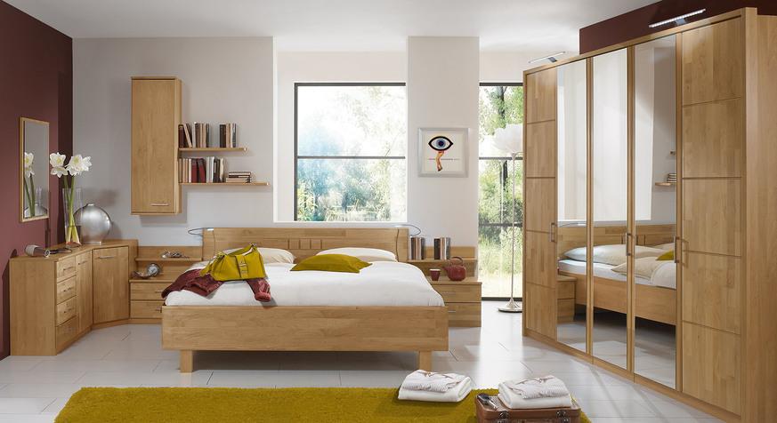 Schrankmöbel im Schlafzimmer