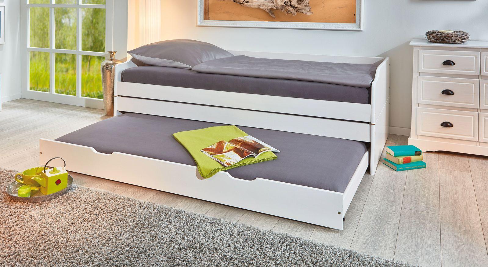 3-in-1 Funktionsbett als Doppelbett für Gäste