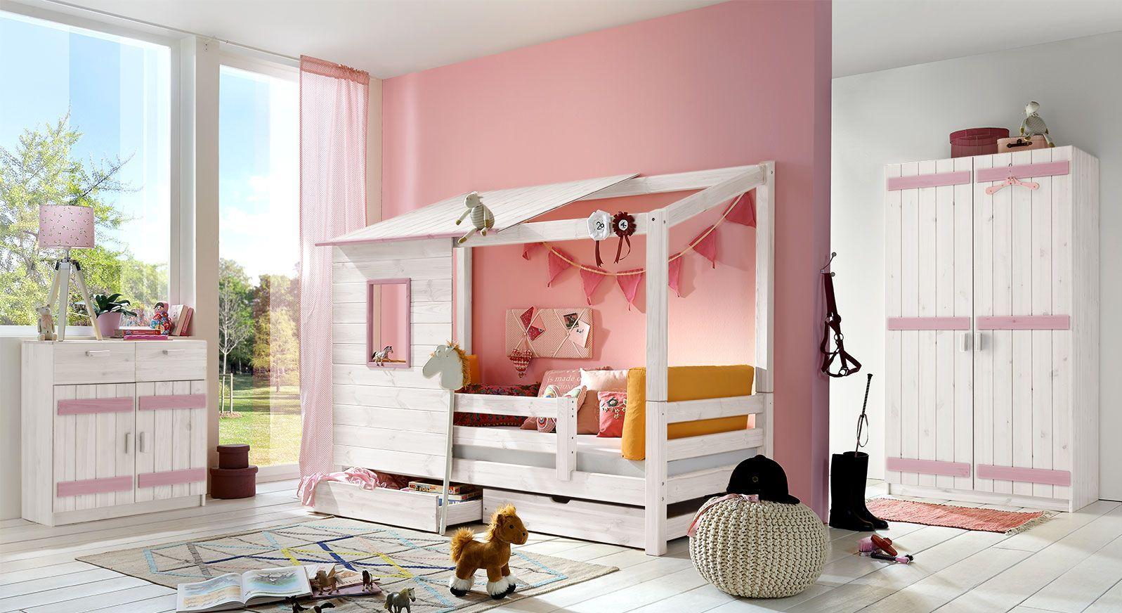 Abenteuer-Bett Kids Paradise für Mädchen in 90x200cm kaufen