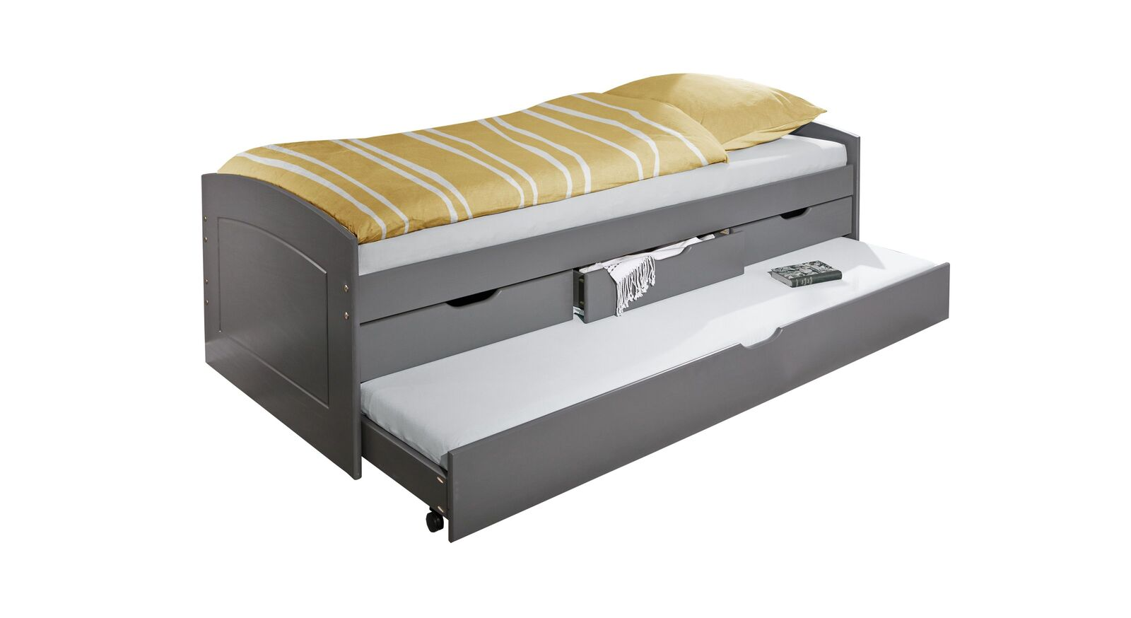 Ausziehbett Anzio mit zweitem Schlafplatz