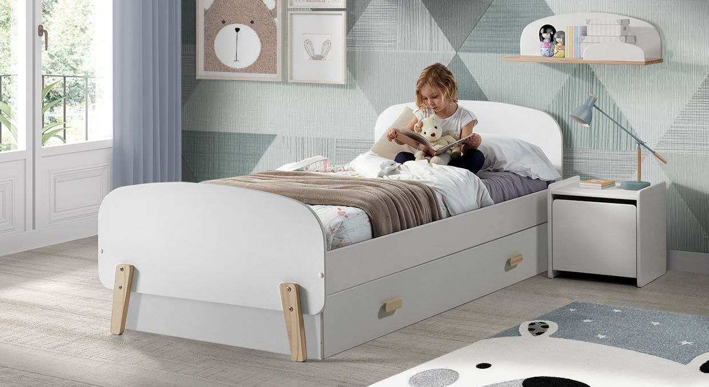 Ausziehbett Maila ideal fürs Kinderzimmer