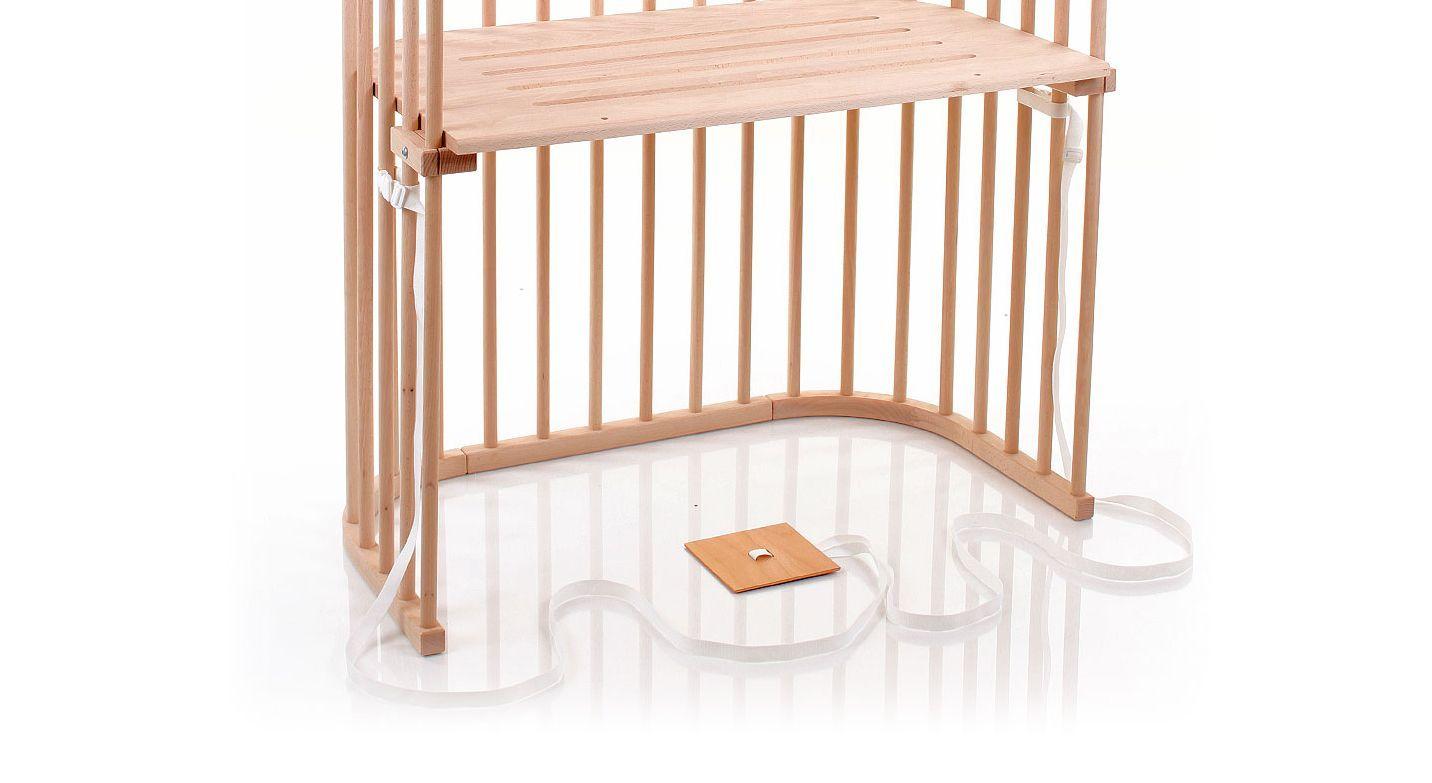 Das sichere Anstellbettchen Babybay ist gut belüftet