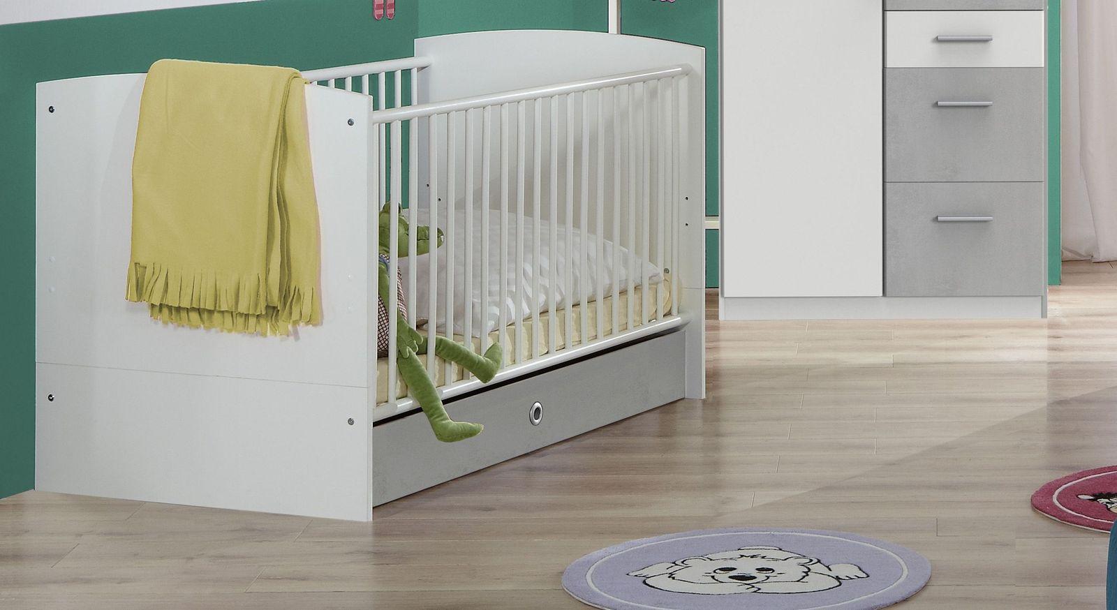Babybett Porvenir mit robustem Gitter