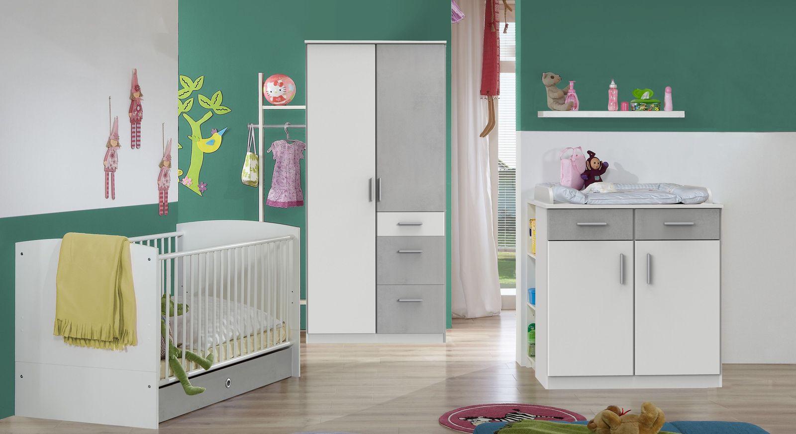 Babyzimmer Porvenir mit passenden Möbeln
