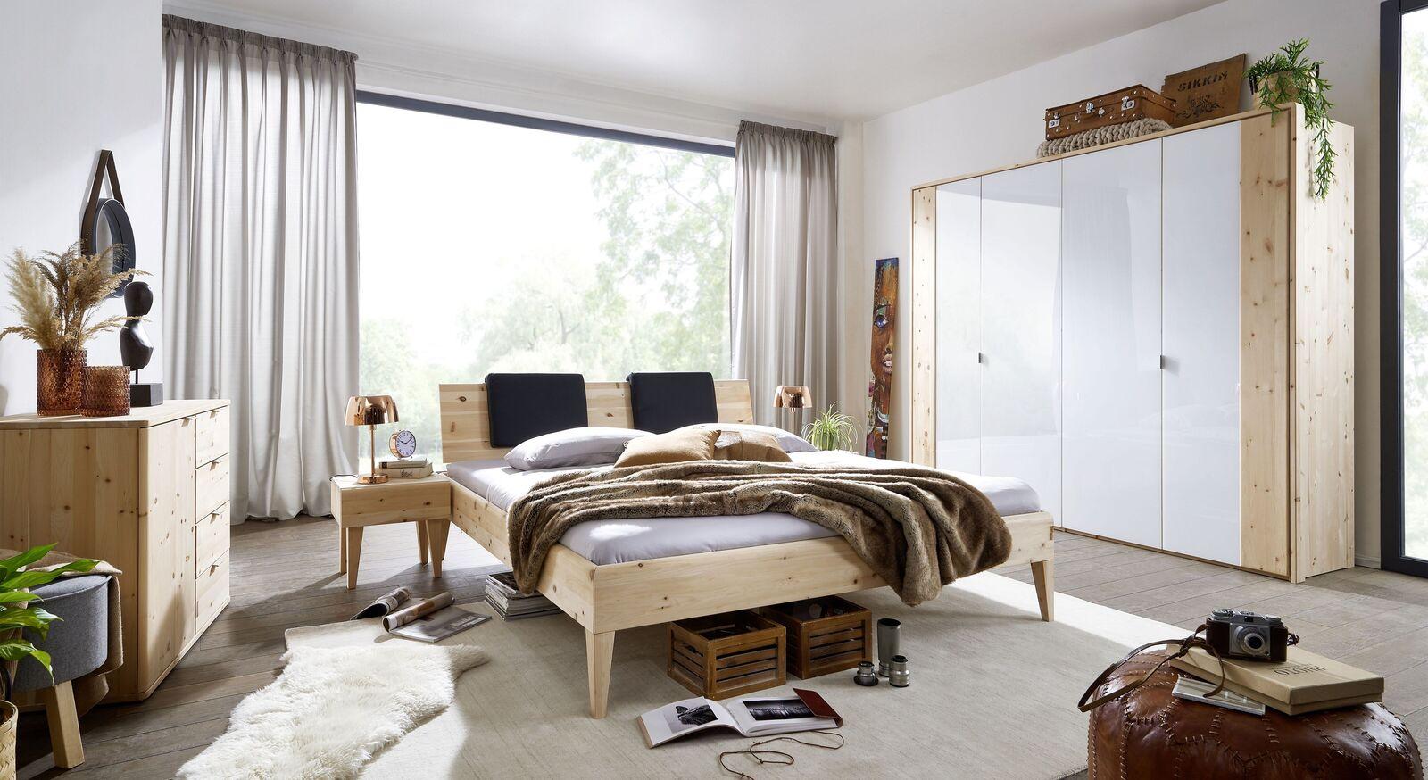 Passende Schlafzimmermöbel zum Bett Alistra