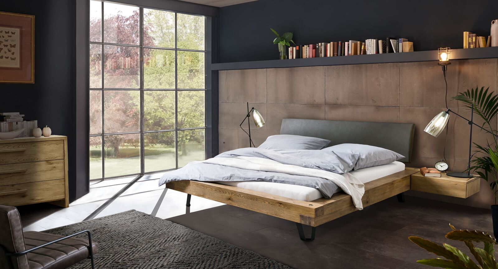 Passende Produkte für Bett Anes Massivholz Vintage