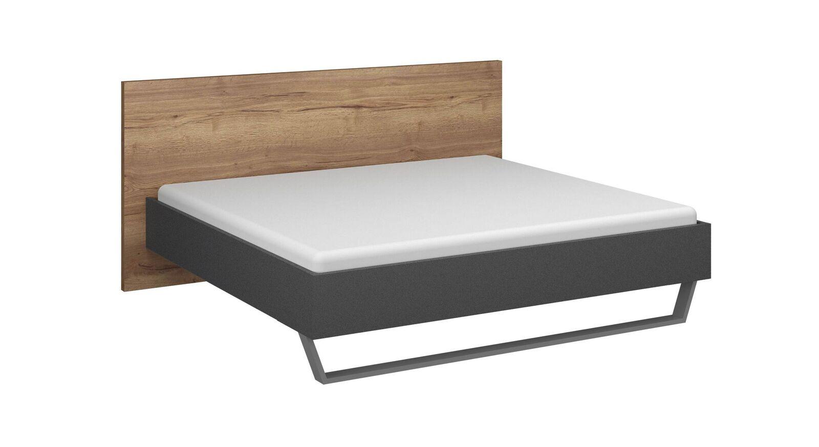 Günstiges Bett Azula im Materialmix