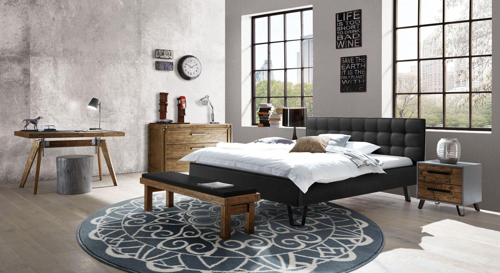 Bett Banvano mit passenden Accessoires fürs Schlafzimmer