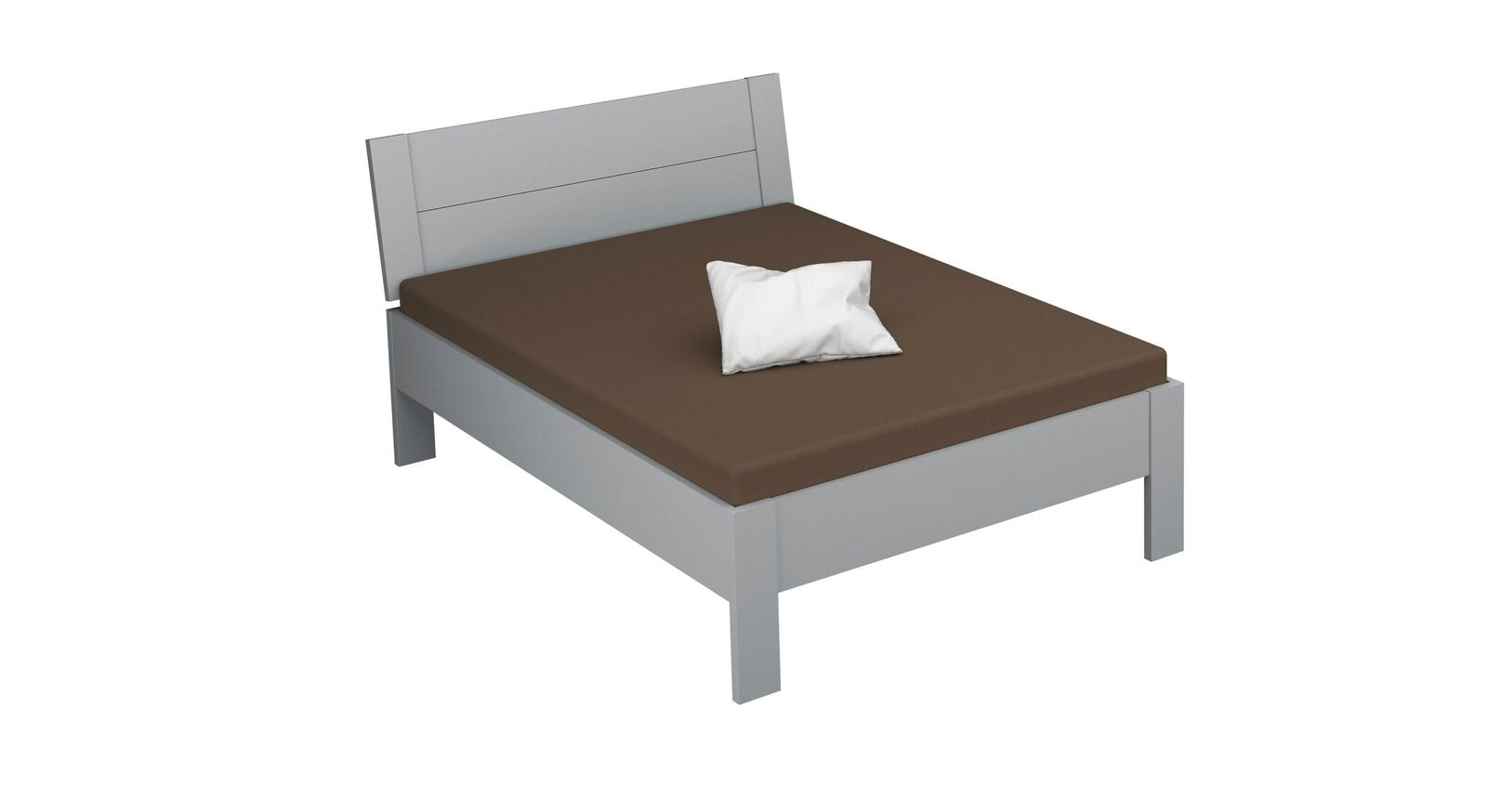 Bett Burana in 140 cm Breite
