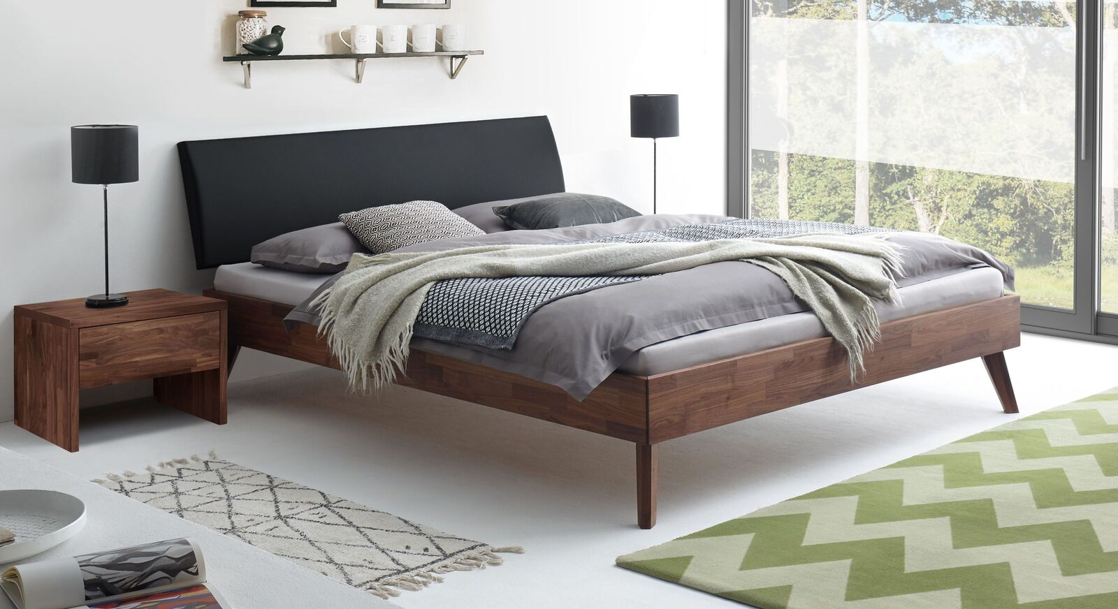 Bett Carman in angesagtem Retro-Design
