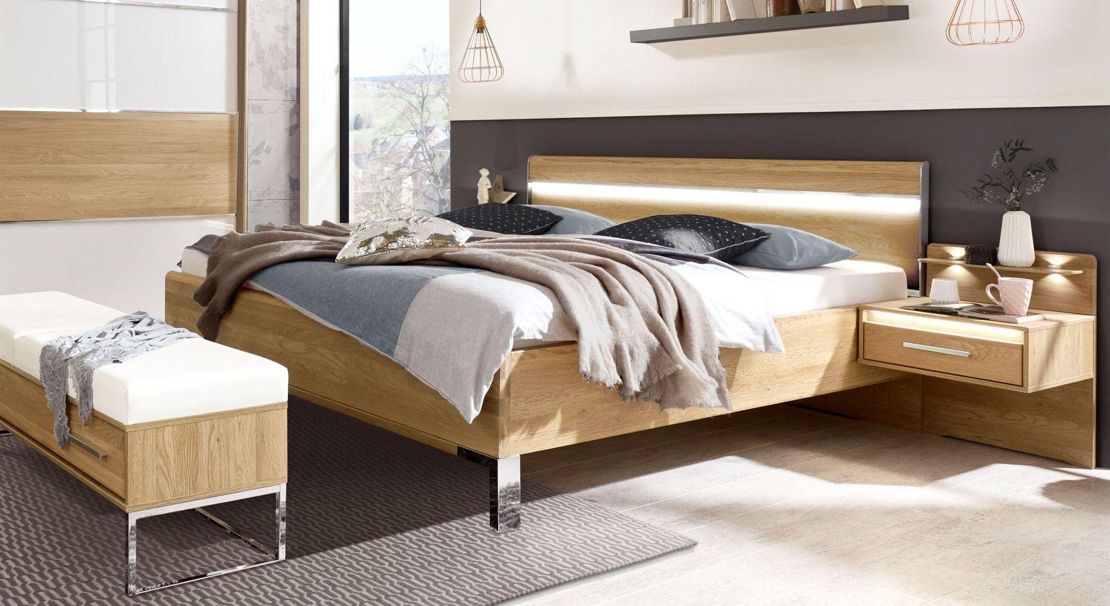 Bett Chipperfield mit komfortabler Bettrahmenhöhe