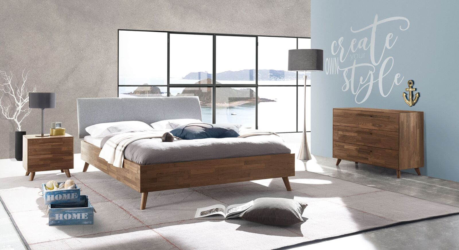 Bett Dorota in angesagtem Design