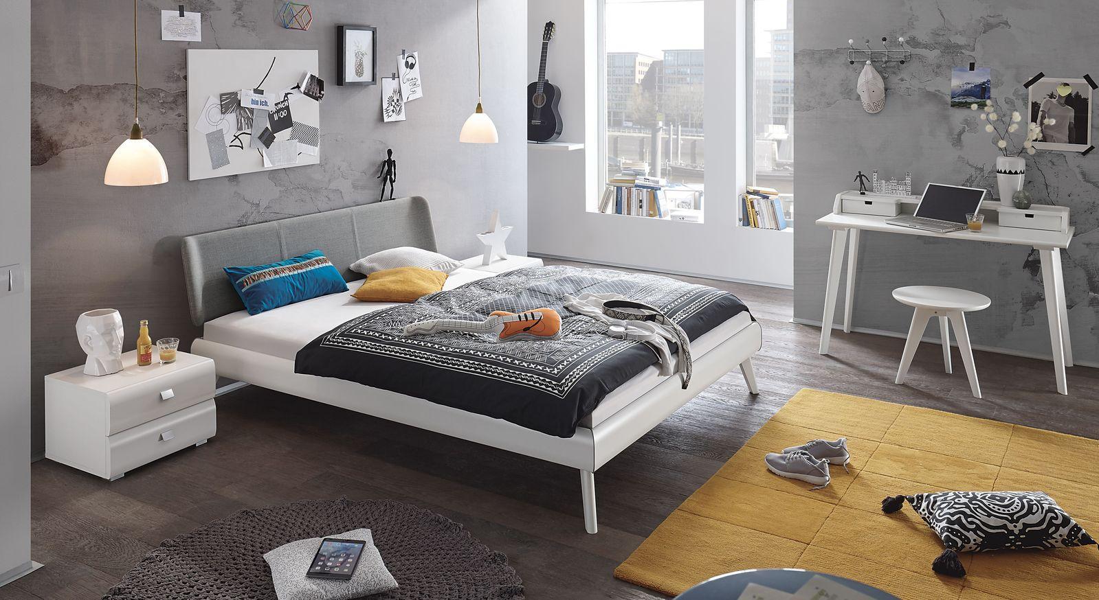 Bett Francisco mit passender Schlafzimmer Einrichtung