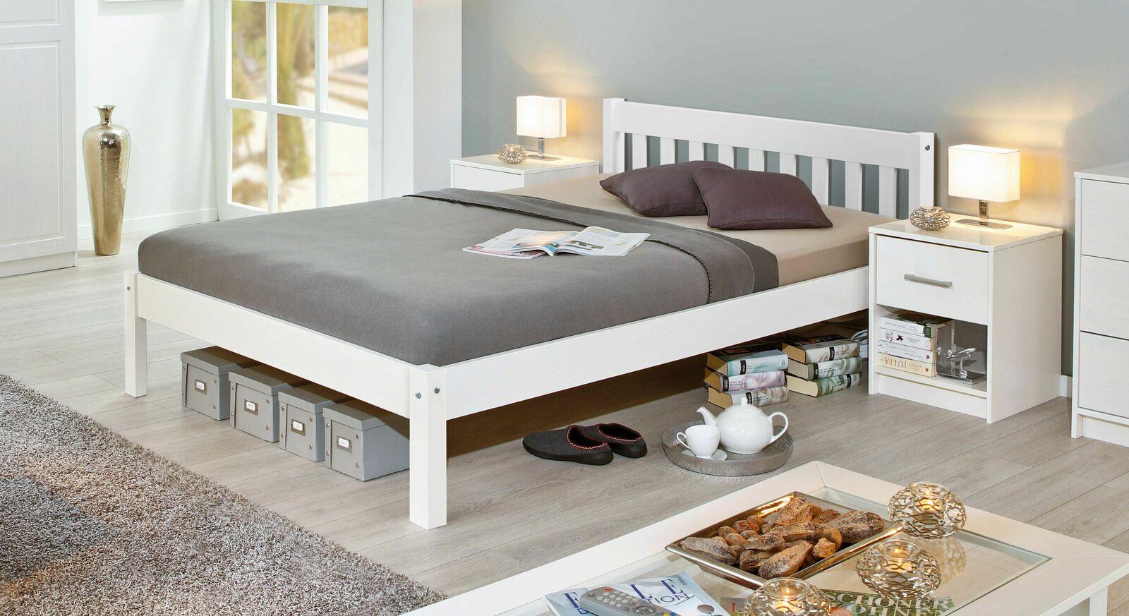Preiswertes Bett Genf in modernem Design