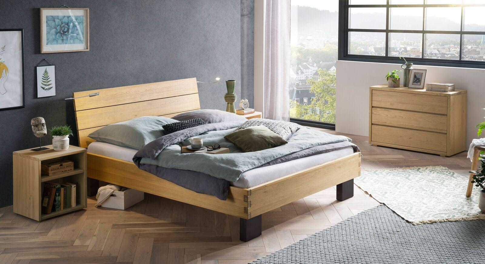 Passende Produkte für Bett Hamar in Wildeiche