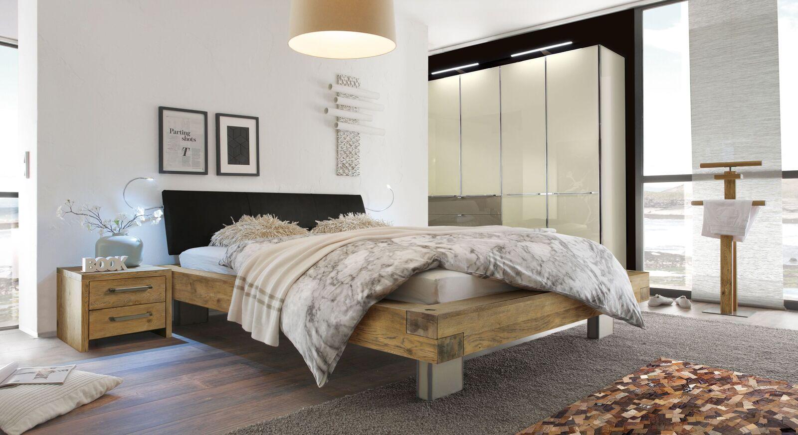 Bett Kolmar mit passenden Schlafzimmermöbeln