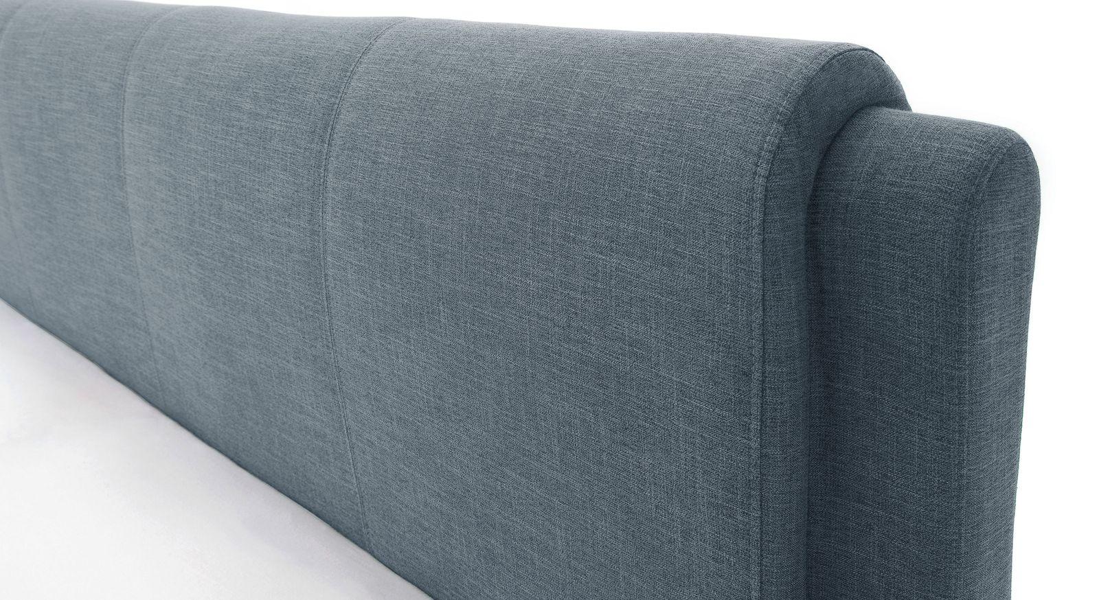 Bett La Marsa mit komfortabel gepolstertem Kopfteil