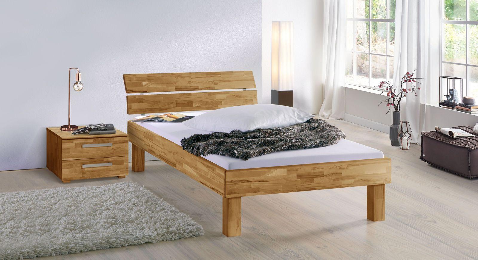Bett Madrid Komfort mit passenden Schlafzimmer-Möbeln