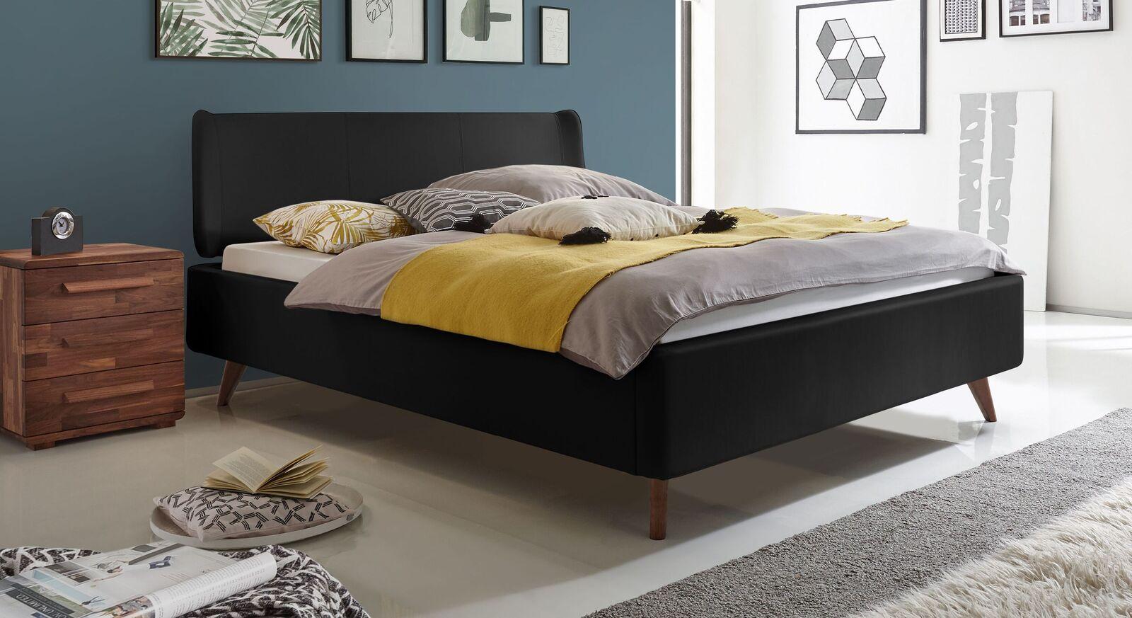 Hochwertiges Bett Malea in Komforthöhe