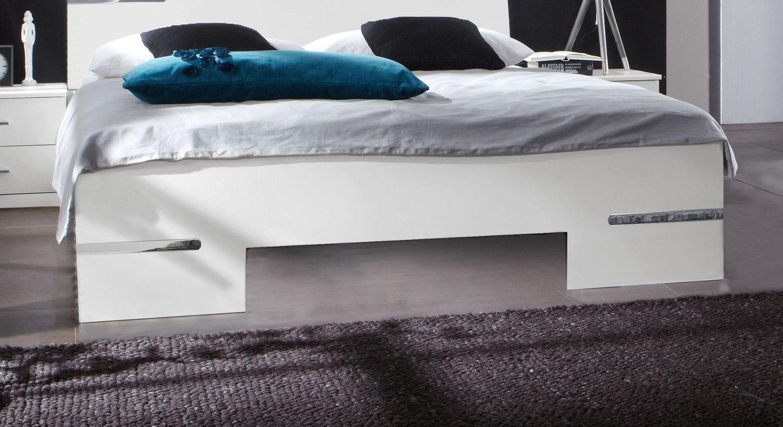 Bett Manati mit attraktivem Fußbereich