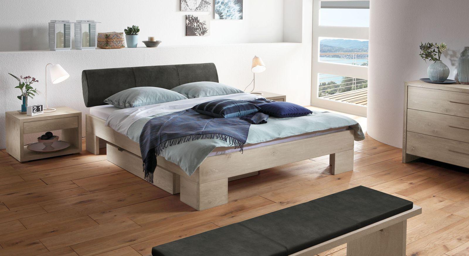 Bett Olinda mit dazu passenden Produkten