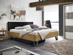 schlafzimmer aus eiche und wildeiche online kaufen. Black Bedroom Furniture Sets. Home Design Ideas