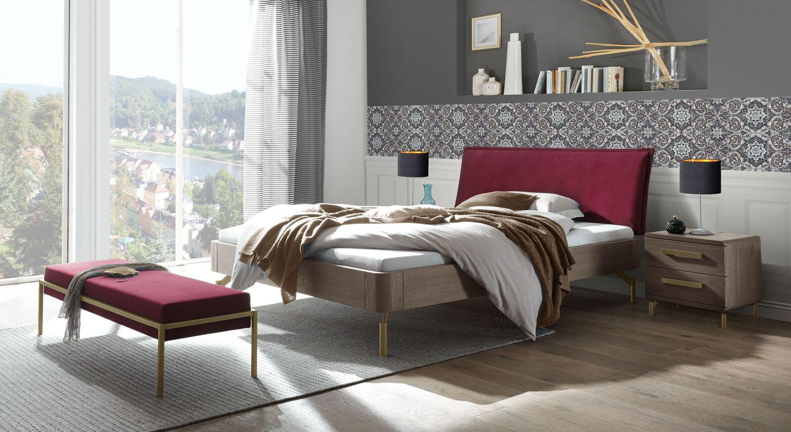 Passende Schlafzimmermöbel zum Bett Quinovia