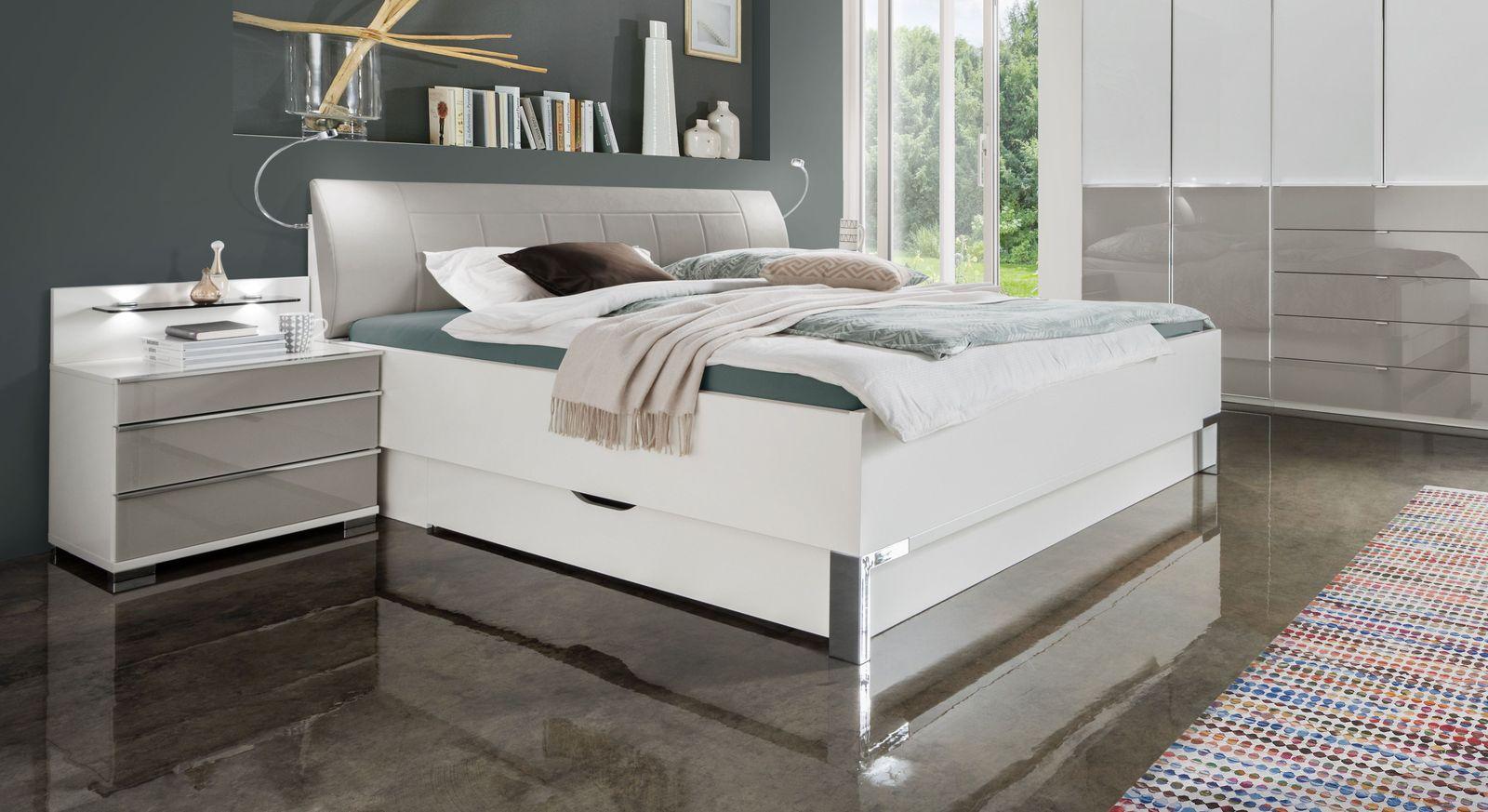 Bett Shanvalley mit passender Fußteilverblendung zur Bettschublade